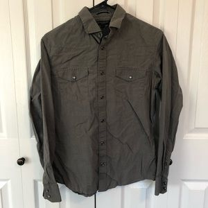 Banana Republic Slim Fit Button Down Dress Shirt